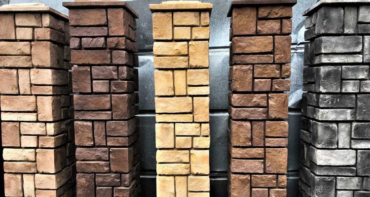 Изготовление декоративных заборных блоков в Артеме